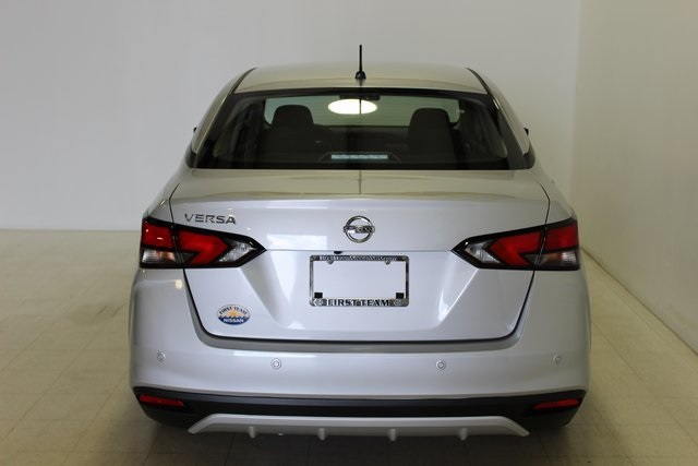 New 2020 Nissan Versa 1 6 S Fwd 4d Sedan