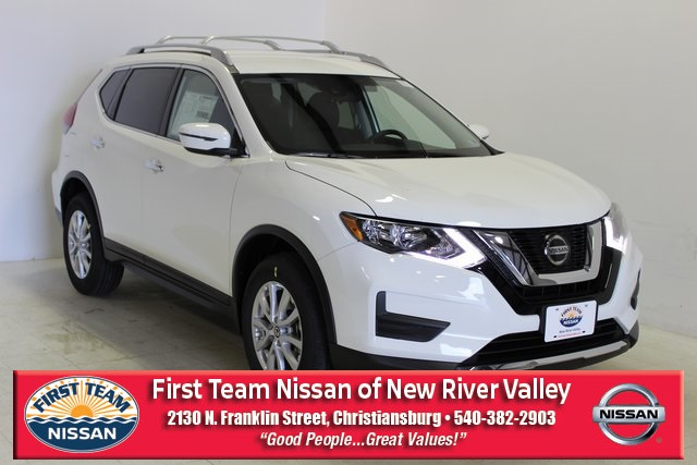 First Team Nissan >> New 2019 Nissan Rogue S 4d Sport Utility In Christiansburg Nr190387
